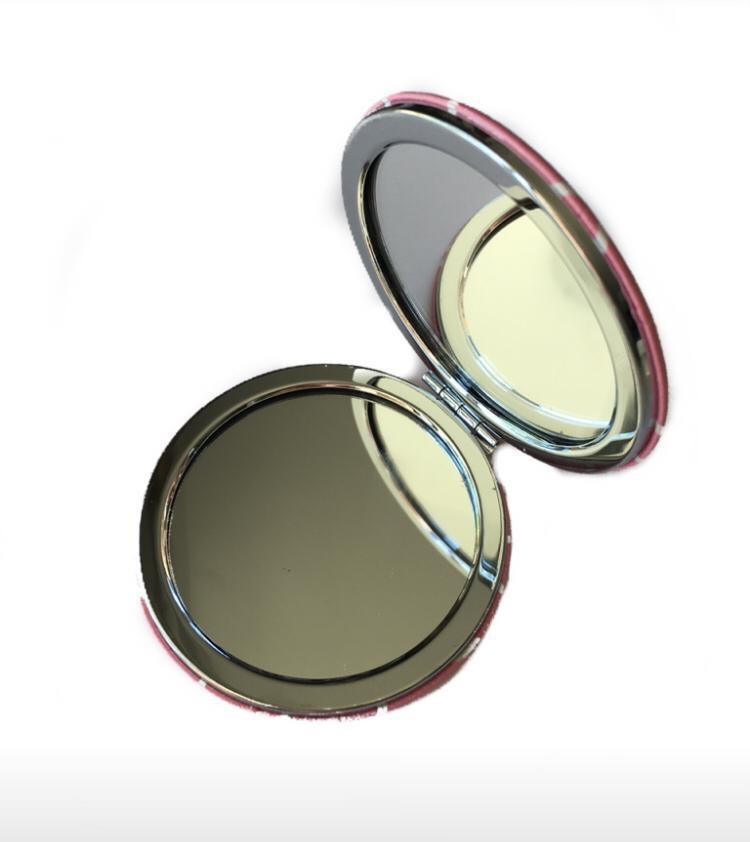 Kit 3 Espelhos de Bolsa de Metal