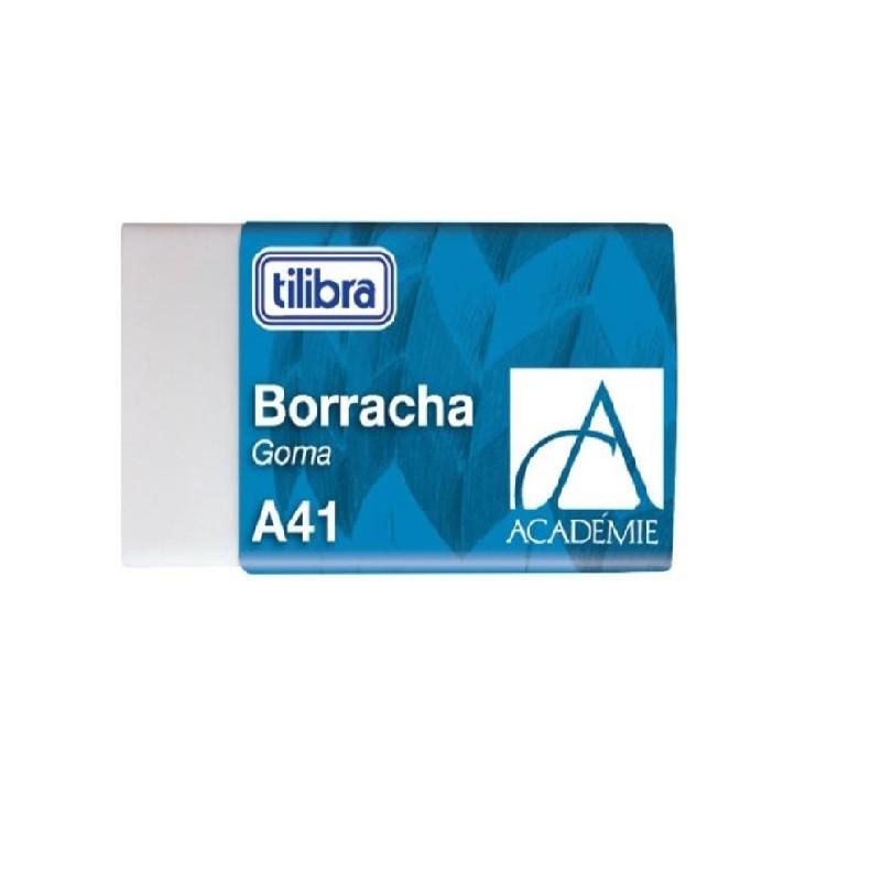 Kit 4 borrachas Academie Tilibra