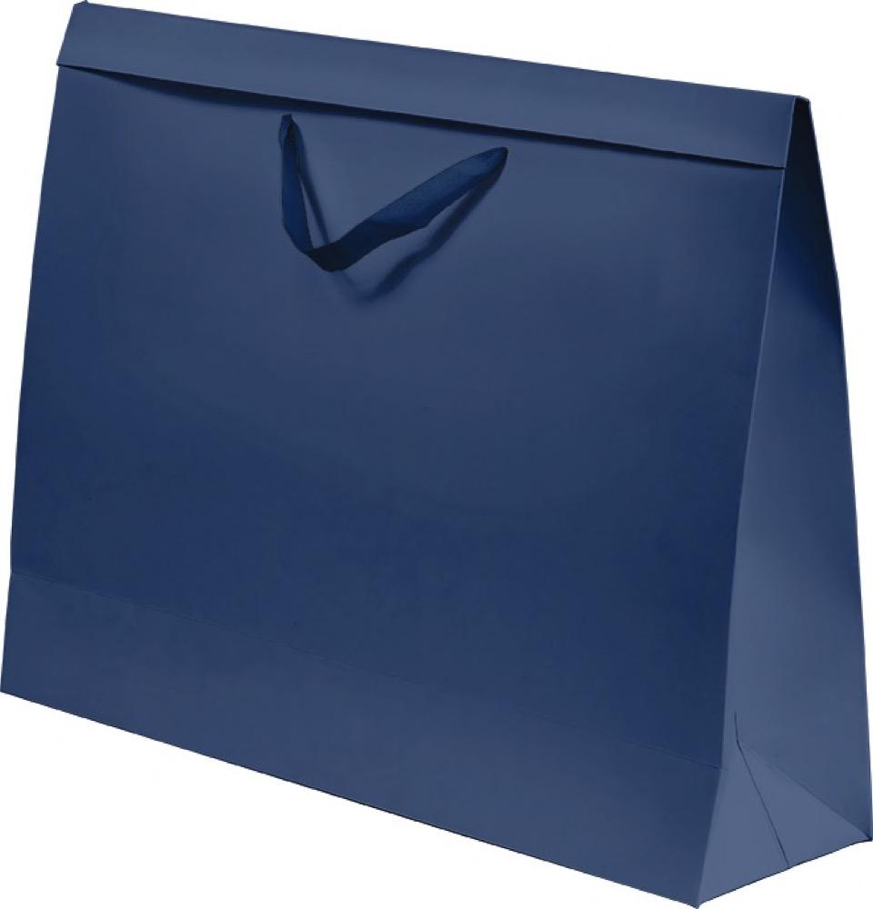 Kit com 3 Sacolas Xadrez e Azul P
