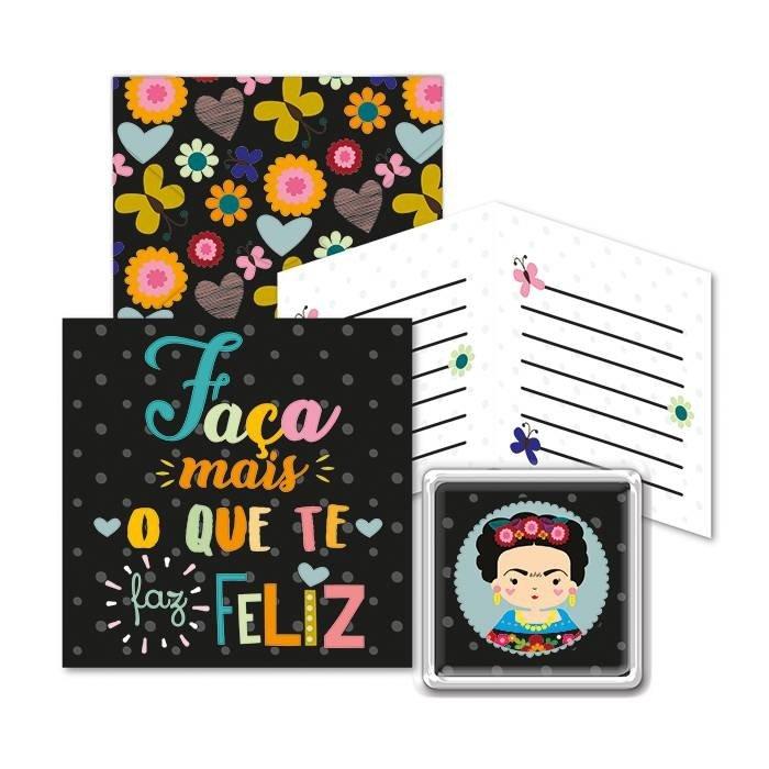 Kit Ímã + Cartão de Presente Frida