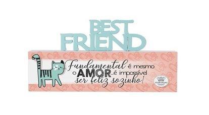 Madeirinha Best Friend Gato