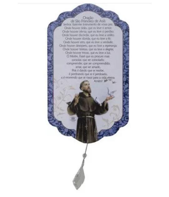 Móbile de Parede Francisco de Assis