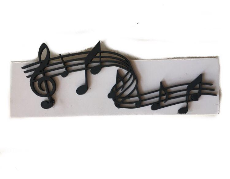 Placa de mesa Música