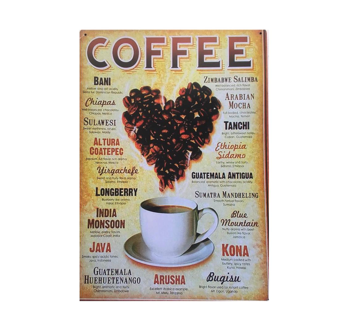 Placa MDF Coffee