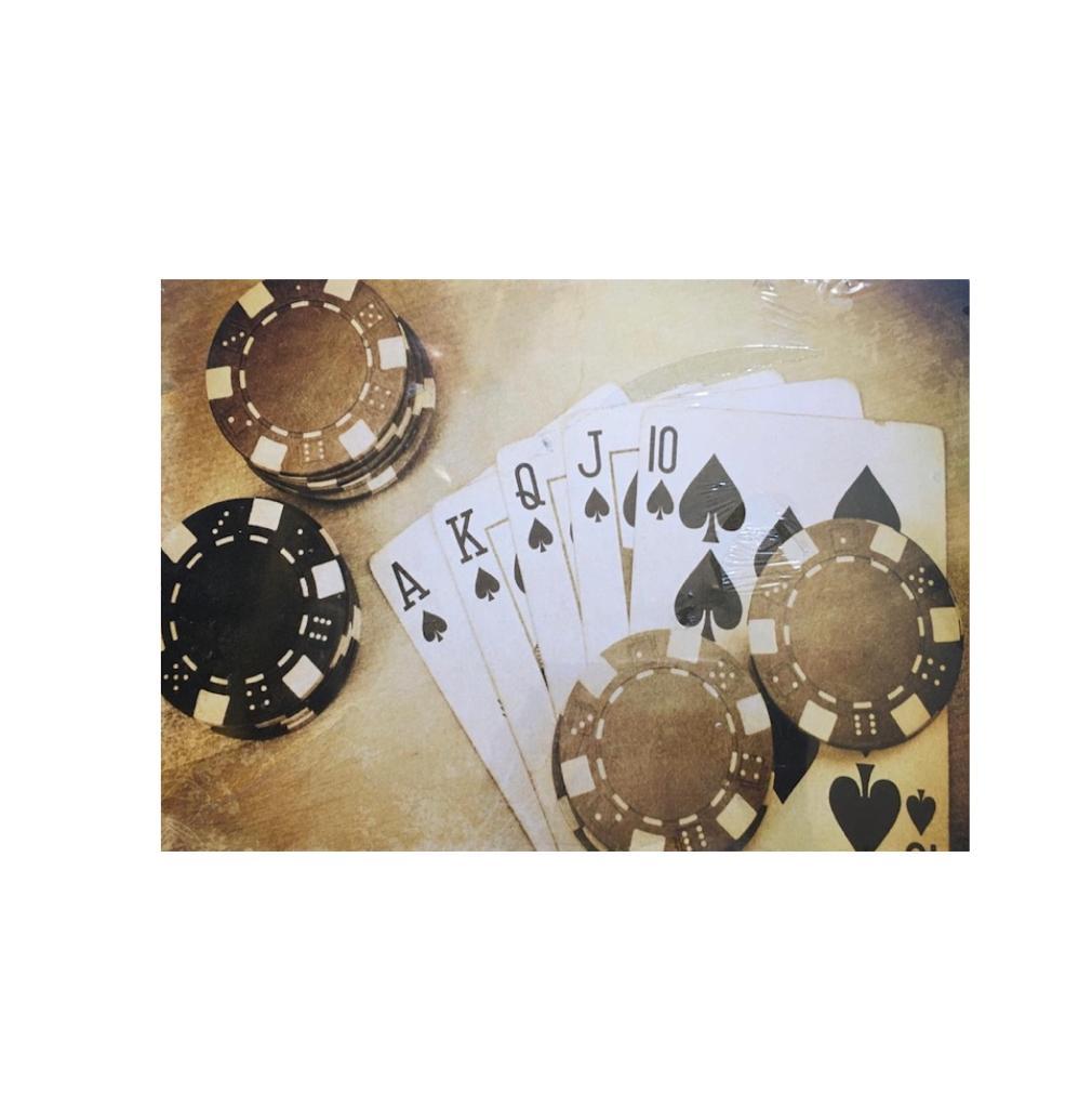 Placa MDF Poker
