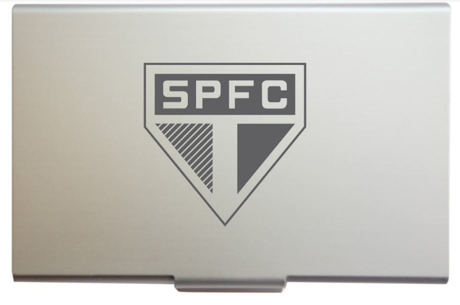 Porta Cartão Escudo SPFC