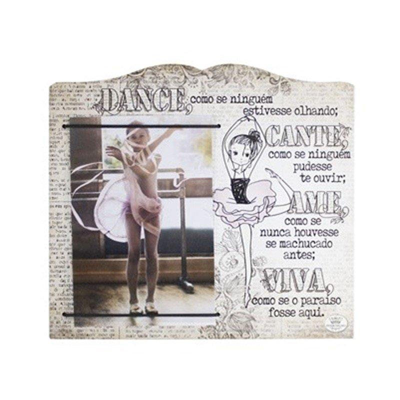 Porta Retrato Dance Como uma Bailarina