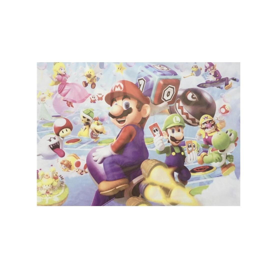 Plaquinha MDF Super Mario