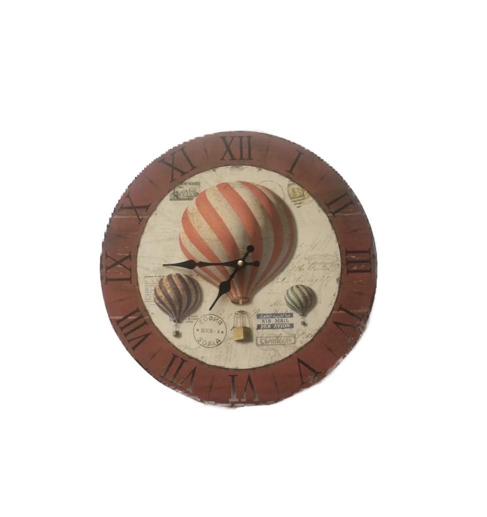 Relógio Balões Cobre