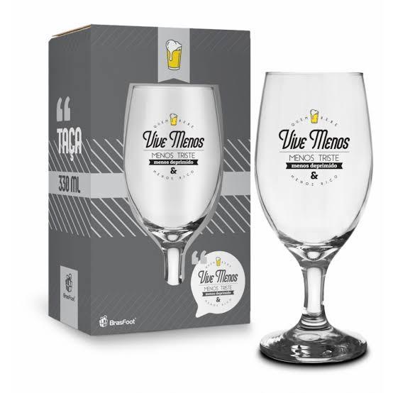 Taça Windsor Temas - Quem Bebe Vive Menos