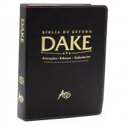 Bíblia de Estudo DAKE - Preta Classica