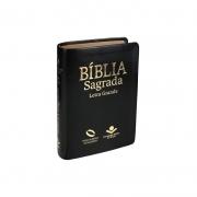 Biblia Nova Almeida Atualizada Letra Grande - Capa Preta Com Indice