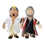 Bonecos Bíblicos - Faraó e Moisés