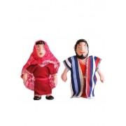 Bonecos Bíblicos - Isaque e Rebeca