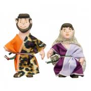 Bonecos Bíblicos - Sansão e Dalila