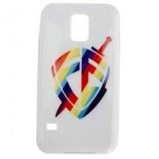 Capa para Celular Samsung Galaxy - Escudo Fé Color Cor Branca
