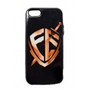 Capinha para Celular iPhone - Escudo Fé Dourado
