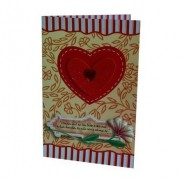 Cartão Para Presente Coração - Caiam Mil Ao Teu Lado