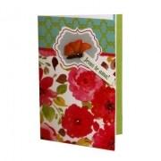 Cartão Para Presente Flores Borboleta - Jesus Te Ama
