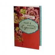 Cartão Para Presente Rosa Flores - Você é muito Especial!