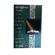 Cartão Para Presente Verde Bíblia - Confia Os Teus Cuidados ao Senhor
