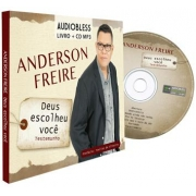 CD Anderson Freire - MP3 + Livro - Deus Escolheu Você