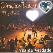 CD Voz Da Verdade - Coração Valente (Play-Back)