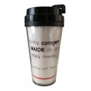Copo de Café - Minha Coragem é Maior - 500ml