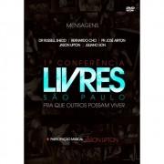 DVD Livres Para Adorar 1ª Conferência Em São Paulo Ao Vivo