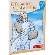 Estudando com a Bíblia - Livro 8 - Mandamentos (Português) Capa Comum