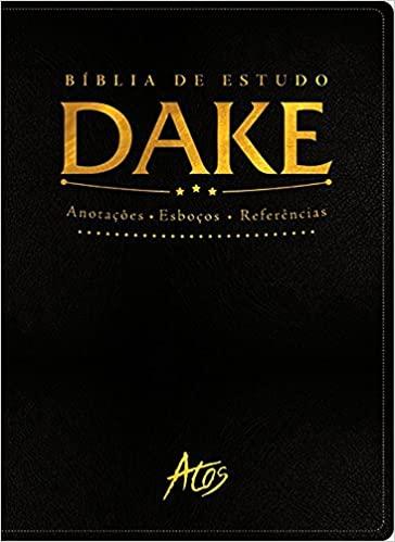 Biblia de Estudo DAKE - Preta Classica