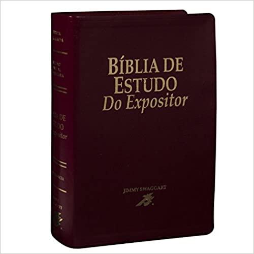 Biblia de Estudo do Expositor - Capa Vinho