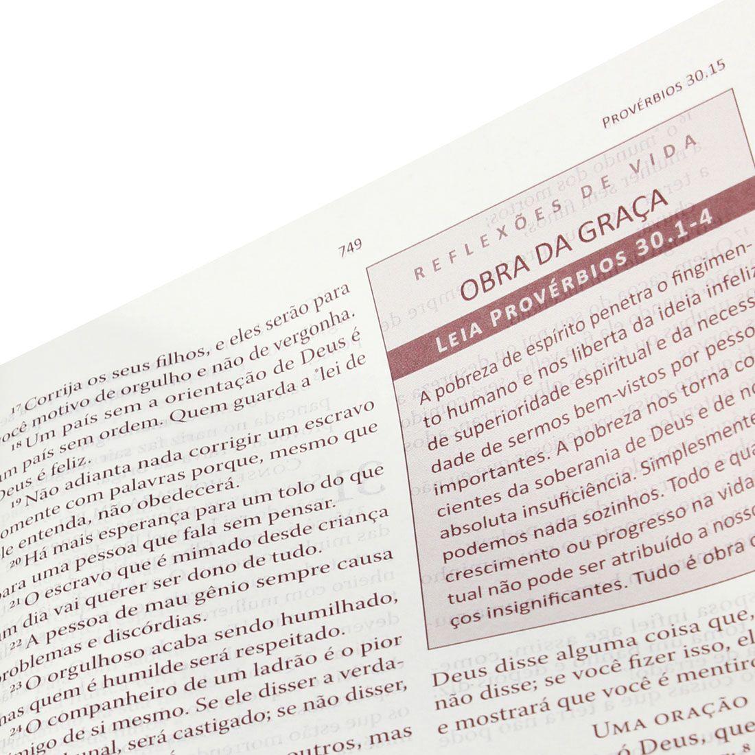 Bíblia de Transformação Pessoal Nova Tradução na Linguagem de Hoje Capa Soft