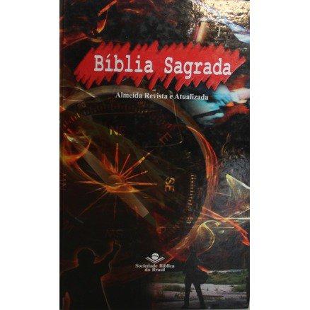 Bíblia Sagrada - Capa Fire - Almeida Revista e Atualizada