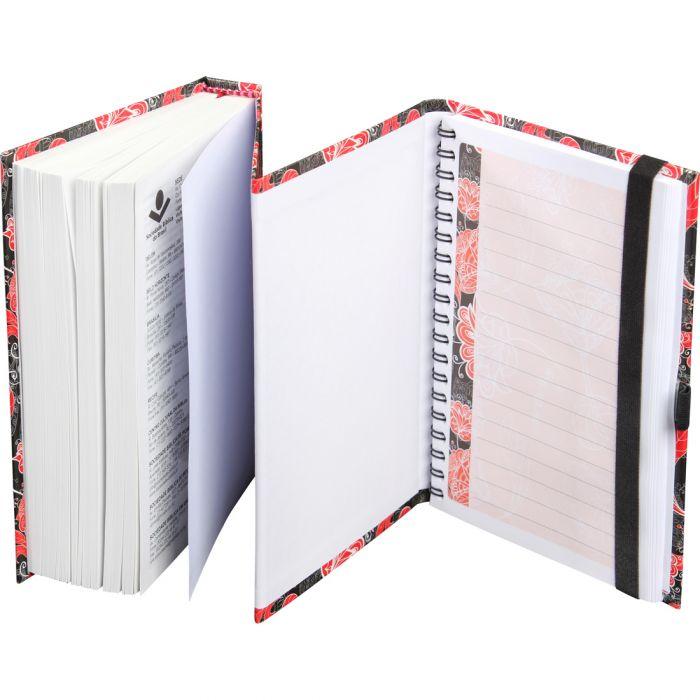 Bíblia Sagrada - Fonte de Bençãos Com Caderno Para Anotações - Floral