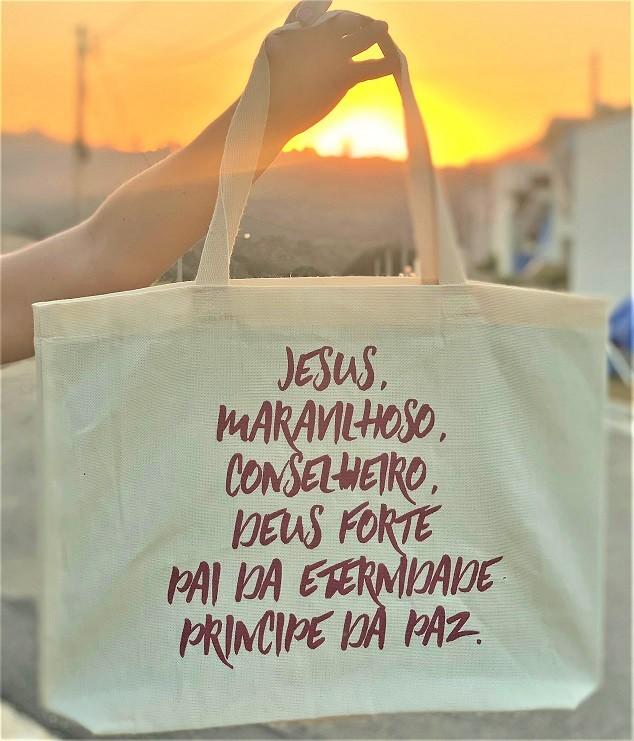 Bolsa Evangelica - Jesus Maravilhoso Principe Da Paz Gospel