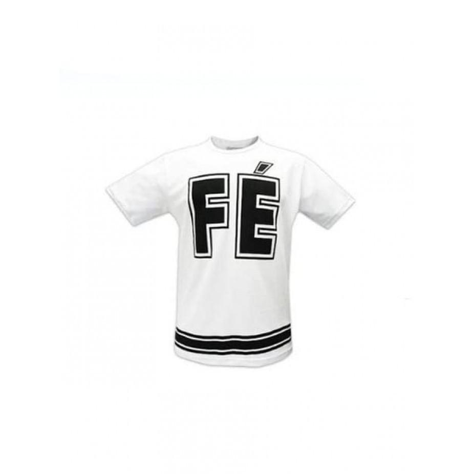 Camiseta Branca - Fé Retro