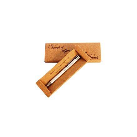Caneta 2 Anéis Clip com Caixa para Presente - Você é especial para Deus CAC253
