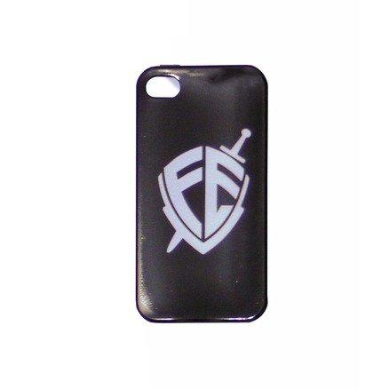Capa para Celular iPhone - Escudo Fé Branco