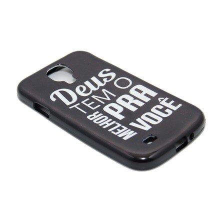 Capa para Celular Samsung Galaxy - Deus Tem o Melhor Para Você