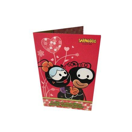 Cartão para Presente com Envelope Smilinguido - A Vida é Maravilhosa Quando Estamos Juntos