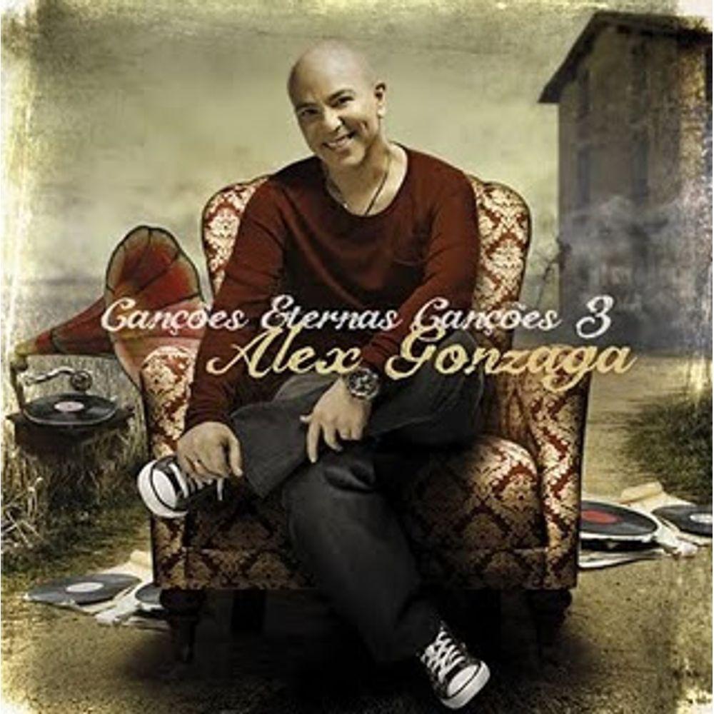 CD Alex Gonzaga - Canções Eternas Volume 3