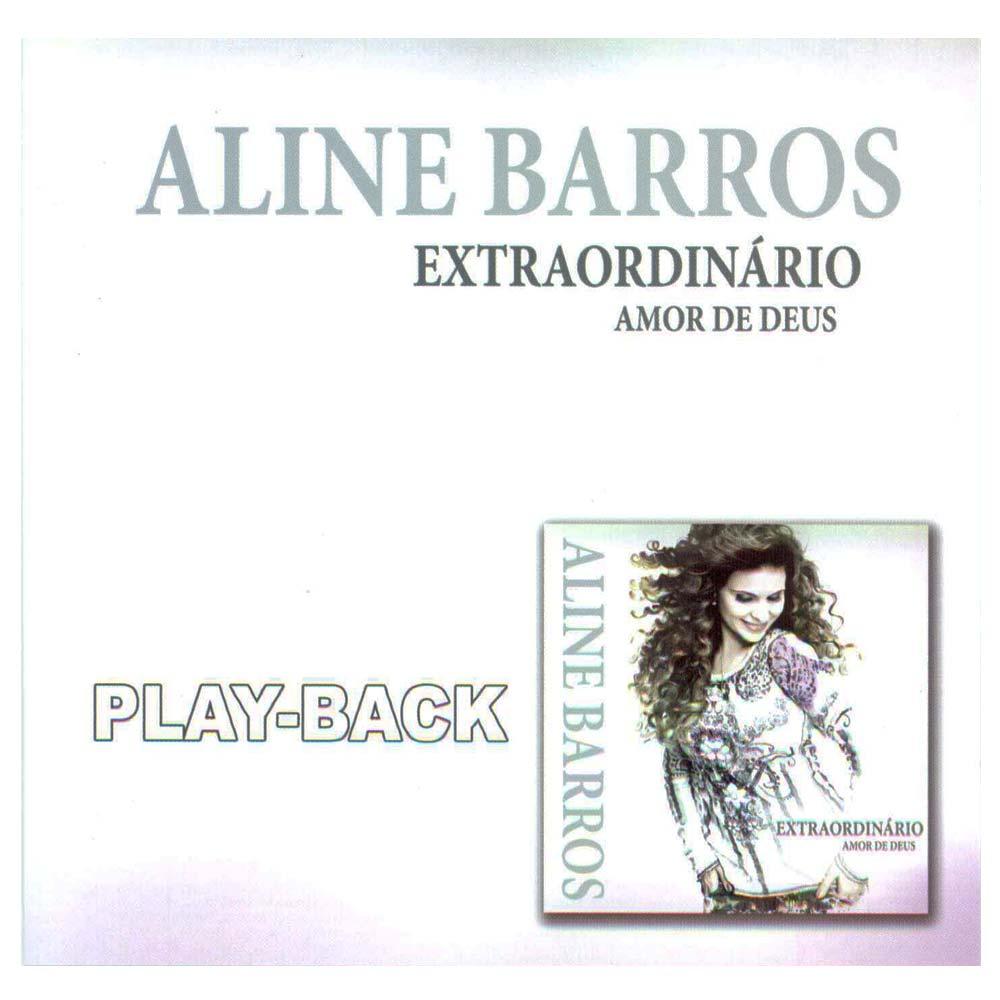 CD Aline Barros - Extraordinário Amor de Deus Playback