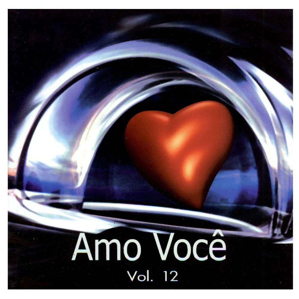 CD Amo Você PlayBack Volume 12