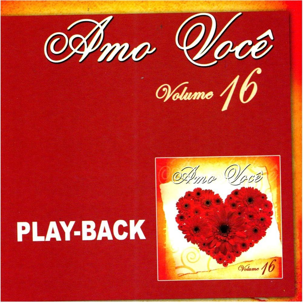 CD Amo Você PlayBack Volume 16