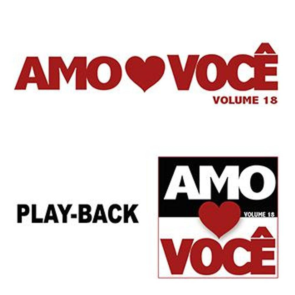 CD Amo Você PlayBack - Volume 18