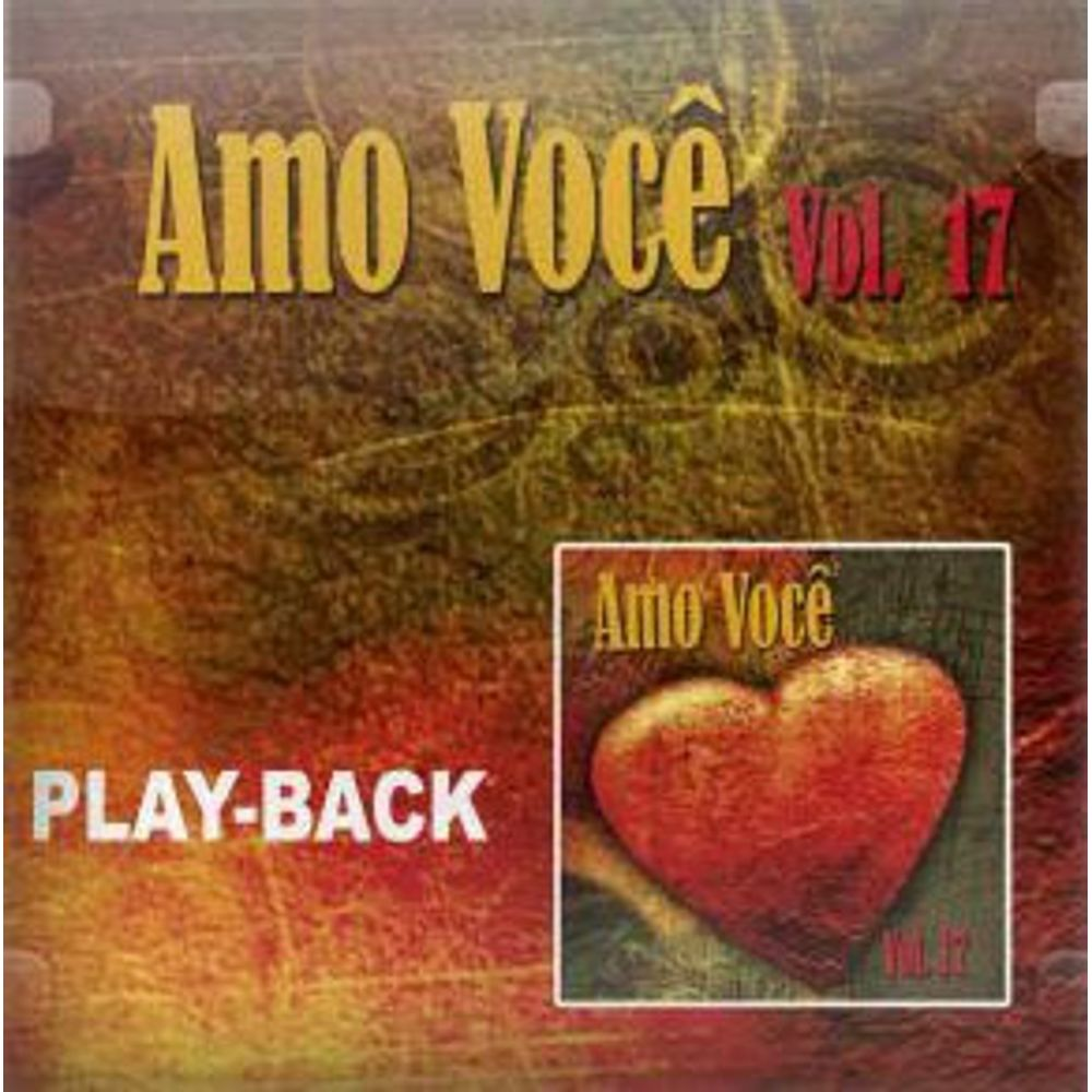 CD Amo Você Vol.17 (Play-Back)