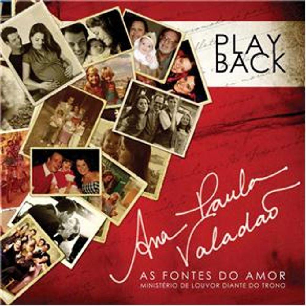 CD Ana Paula Valadão - As Fontes do Amor Playback