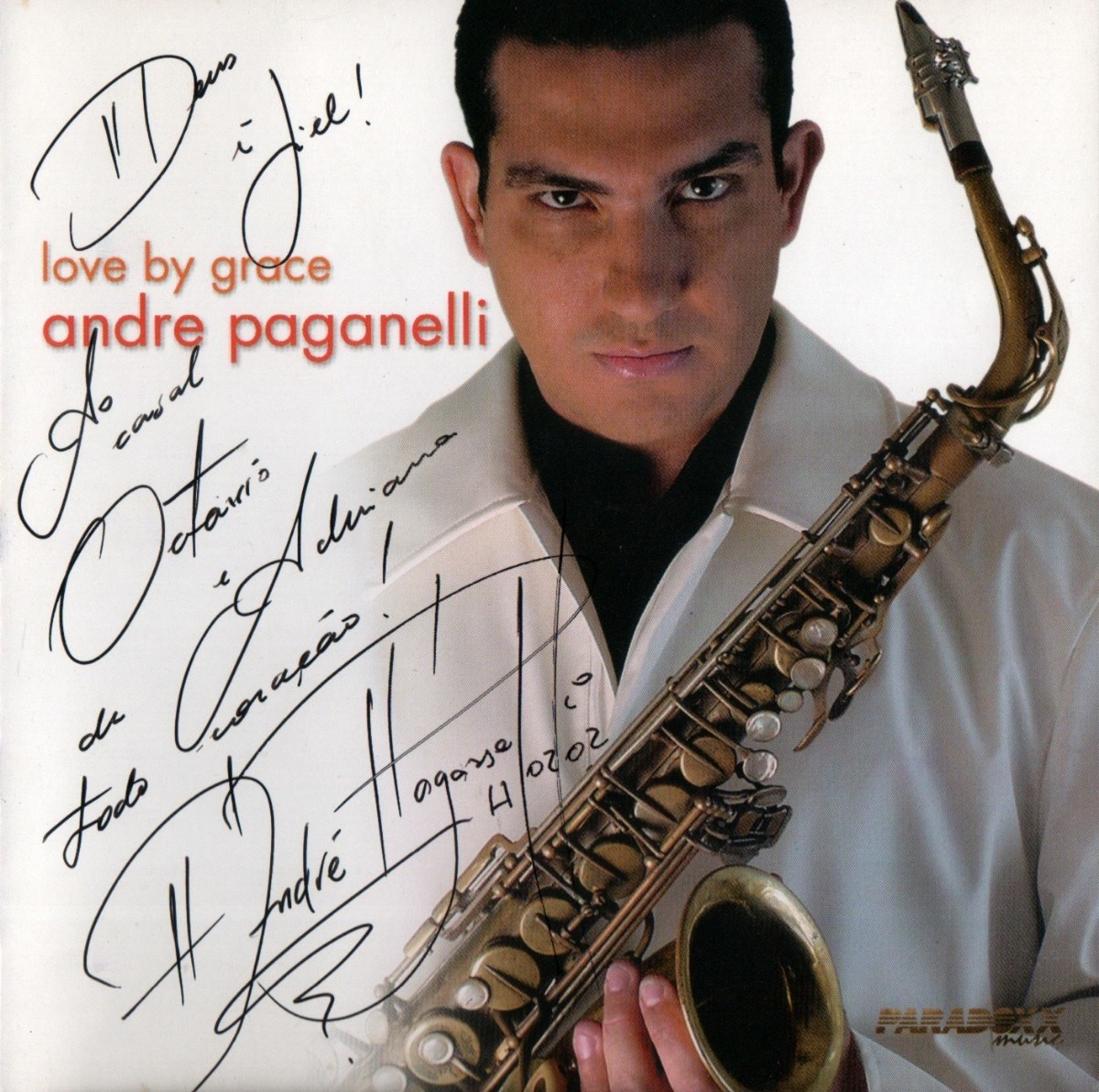CD Andre Paganelli - Love By Grace