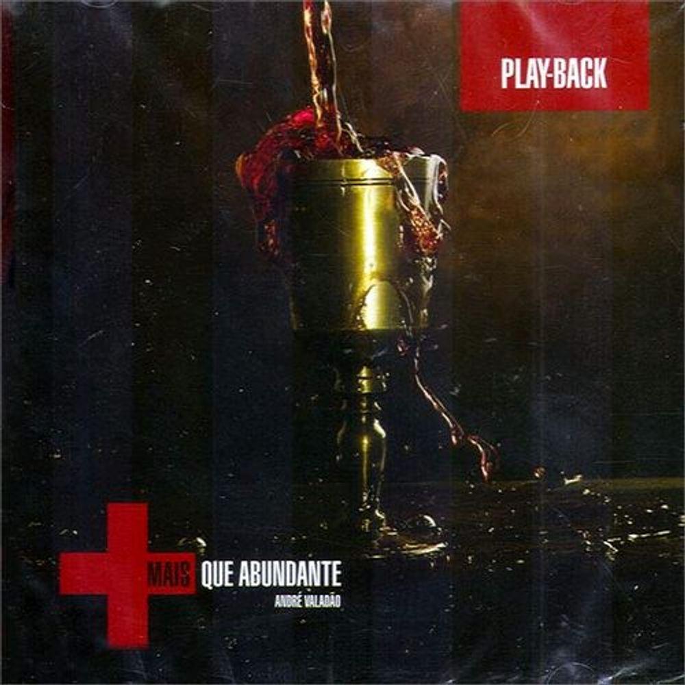 CD André Valadão - Mais Que Abundante (Play-Back)